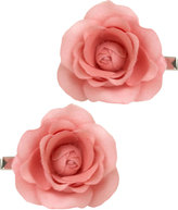 2 Pair Rose Clips