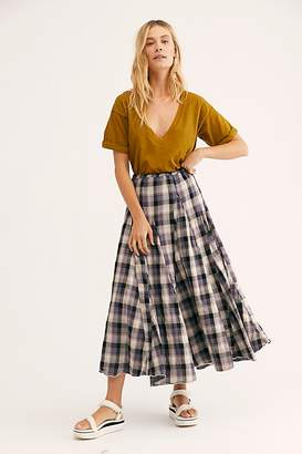 Cp Shades Lily Cotton Maxi Skirt by at Free People