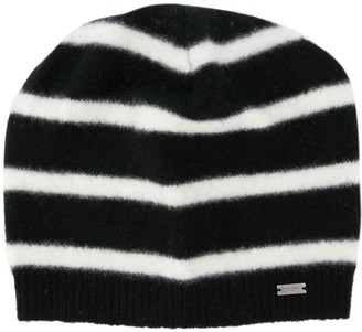 Saint Laurent Striped Beanie
