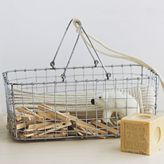west elm Wire Mesh Laundry Caddy