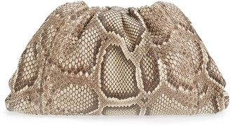 Bottega Veneta The Pouch Genuine Python Clutch