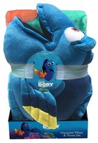 Disney Dory Fun in the Water Throw & Pillow Set Multicolored 2pc - Finding Dory®
