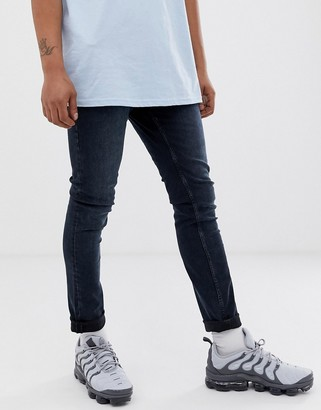 Cheap Monday tight skinny jeans in bluelisted