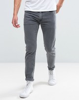 Diesel Thommer Slim Stretch Jeans 681d Grey Wash