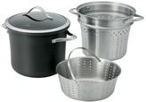 Calphalon Contemporary 8 Quart Non-stick Dishwasher Safe Multi Pot with Steamer Insert