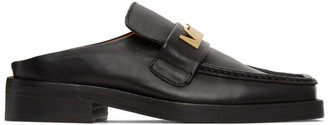 Martine Rose SSENSE Exclusive Black Logo Loafers