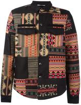 Valentino geometric shirt jacket
