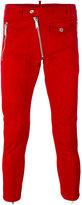 DSQUARED2 zip skinny trousers - men - Cotton/Spandex/Elastane - 46