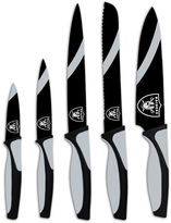 Oakland Raiders 5-Piece Cutlery Knife Set