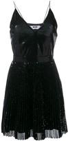 MSGM Sequin Pleated Dress