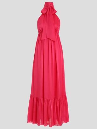 Zimmermann Gathered Bow-Tie Dress