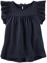 Osh Kosh Toddler Girl Flutter Short Sleeve Flow Tunic