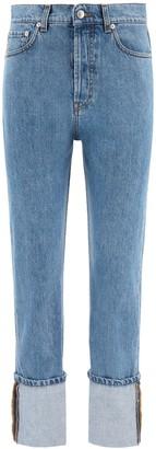 Nanushka cho turn-up jeans