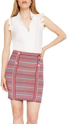 Damsel in a Dress Lyn Stripe Knitted Skirt, Multi