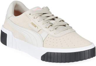 Puma Cali Suede Low-Top Sneakers