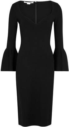 Stella McCartney Black stretch-knit dress