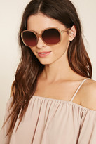 Forever 21 Metal Square Sunglasses