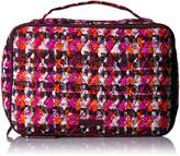 Vera Bradley Large Blush & Brush Makeup Case Cosmetic Bag
