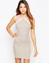 TFNC Bodycon Mini Dress With Back Detail