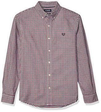 Chaps Men's Long Sleeve Stretch Oxford Button Down Shirt