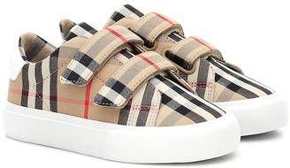 BURBERRY KIDS Markham Vintage Check sneakers