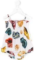 Dolce & Gabbana seashell-print swimsuit