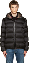 Moncler Black Down Chauvon Jacket