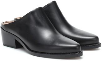LEGRES Leather mules