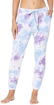 FP Movement Tie-Dye Work It Out Joggers (Purple Tie-Dye) Women's Clothing