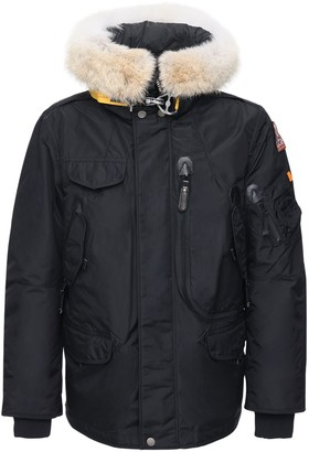 Parajumpers Right Hand Down Jacket W/ Fur