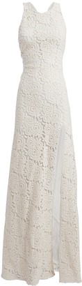 Redemption Rose Lace Sleeveless Gown