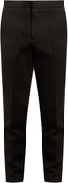 Alexander Wang Seamed-front neoprene tailored track pants