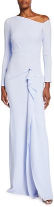 Roland Mouret Salona Asymmetric Column Gown