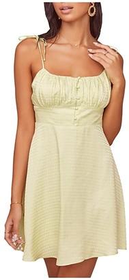 ASTR the Label Mon Cheri Dress (Celery) Women's Clothing