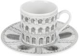 Fornasetti Architettura Espresso Cup & Saucer