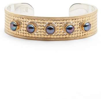 Anna Beck Genuine Blue Pearl Multistone Cuff