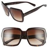 Dolce & Gabbana 55mm Retro Sunglasses