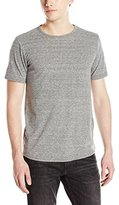 Kenneth Cole New York Men's Nep Yarn Textured Crewneck