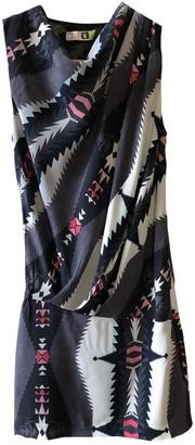 MSGM Multicolour Silk Dresses