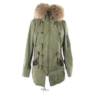 PRPS Green Cotton Jacket for Women