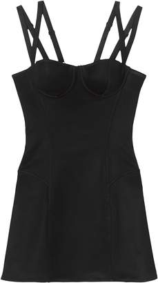 Burberry stretch jersey corset dress