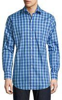 Peter Millar Crown Jewel Plaid Button-Down Shirt