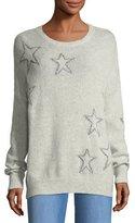 360 Sweater 360Sweater Harper Star-Print Cashmere Sweater