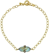 Cathy Waterman Boulder Opal Chain Bracelet with Diamonds