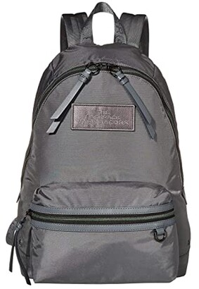 Marc Jacobs The DTM Large Backpack (Dark Grey) Backpack Bags