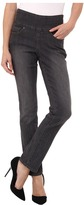 Jag Jeans Petite Petite Peri Pull-On Straight in Thunder Grey