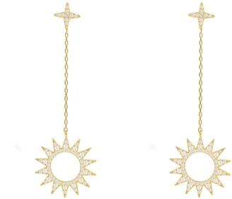 Latelita Day & Night Sun Earrings Gold
