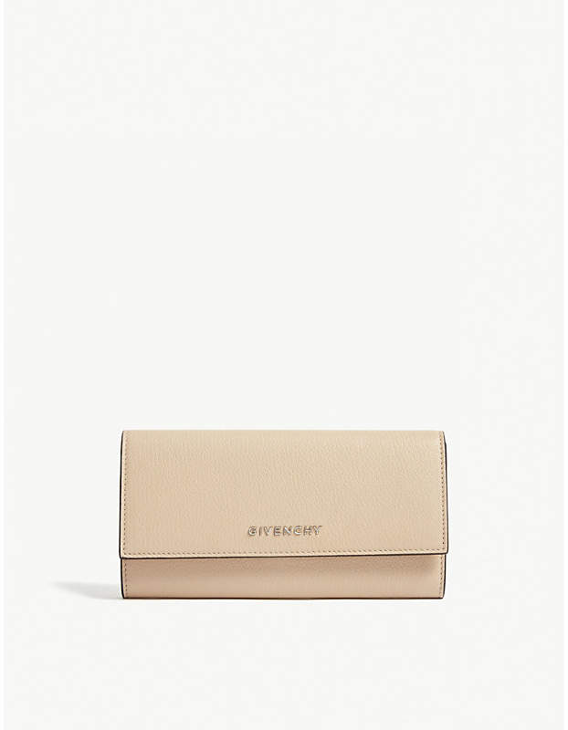 Givenchy Pandora grained leather long purse