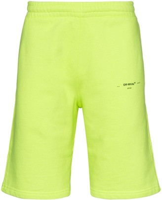 Off-White Logo Track Shorts