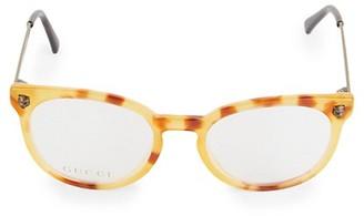 Gucci 50MM Cat Eye Optical Glasses